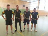 Unsere aktuelle 5. Herrenmannschaft mit Christoph, Jakob, Michael & Ecevit (v.l.n.r.)