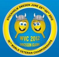 Senioren-WM im Tischtennis - Stockholm 2012