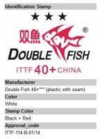 Plastikball mit Naht DoubleFish