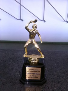 Um diese Pokale ging es bei der Finalveranstaltung des TTT in Berlin
