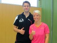 Unser Trainerduo für den Jugendbereich: Susann & Dennis
