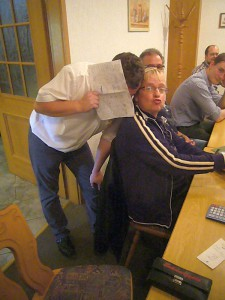 Erdmannsdorf 2014 - Immer für ein Späßchen gut