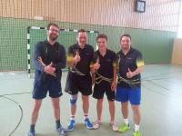 Die 5. Herren mit André, Peter L., Florian & Heiko (v.l.n.r.)