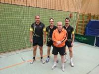 Unser 50er-Seniorenteam mit Frank G., Stefan, Rainer & Herbert (v.l.n.r.)