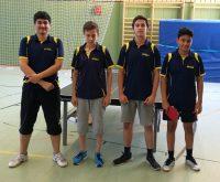 Unser aktuelles zweites Jungenteam mit Abdussamed, Enrico, Ismail & Roham (v.l.n.r.)