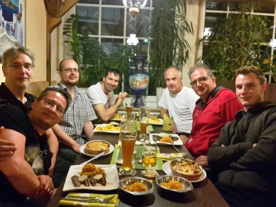 Mettingen 2016 - Im Restaurant