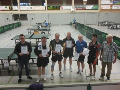 Mettingen 2016 - Siegerehrung D-Klasse