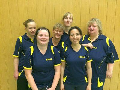 Unser aktuelles Damenteam mit Julia, Annika, Rita, Veronica, Sanae & Birgit