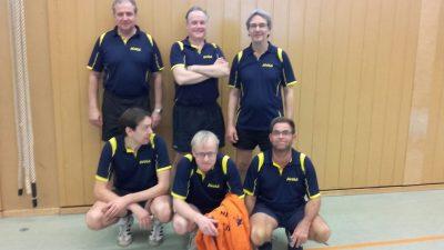 Unsere 1. Herrenmannschaft der aktuellen Saison mit Frank G., Samir, Martin, Rainer L., Stefan & Michael B. (v.l.n.r.)