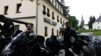 Ankunft in Erdmannsdorf